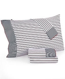 Tommy Hilfiger Twin XL Ellington Str Sheet Set