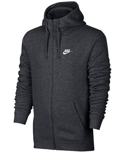Nike Men's Fleece Zip Hoodie - Hoodies & Sweatshirts - Men - Macy's