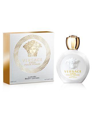 Versace Eros Pour Femme Eau De Toilette Body Lotion 6 7 Oz All
