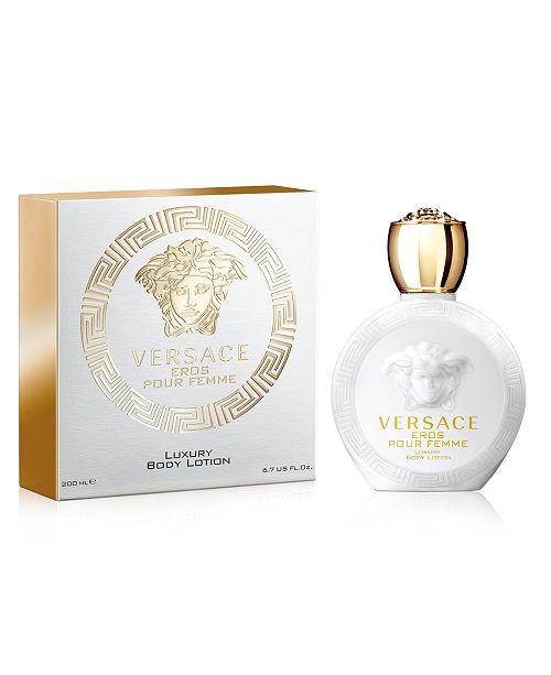 7af1bd3796 Versace Eros Pour Femme Eau de Toilette Body Lotion, 6.7 oz ...