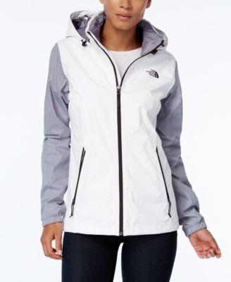 Women's plus size breathable rain jacket