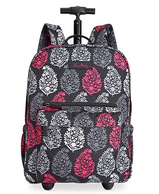 Vera Bradley Lighten Up Rolling Backpack