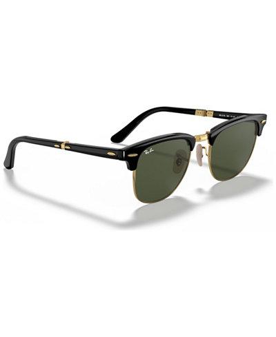 Ray-Ban Polarized Sunglasses, RB2176 Clubmaster Folding