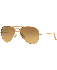 Ray-Ban ORIGINAL AVIATOR Sunglasses, RB3025 55