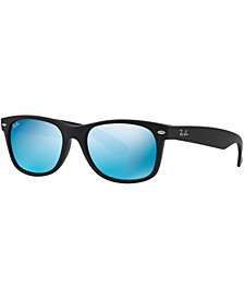 Ray-Ban NEW WAYFARER MIRRORED Sunglasses, RB2132