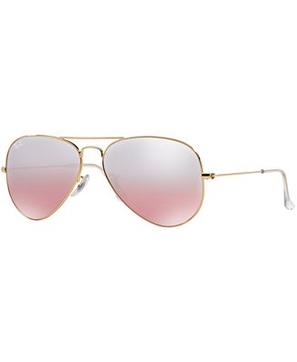 ray ban aviator sunglasses rb3025  ray ban sunglasses, rb3025 58 original aviator gradient mirrored