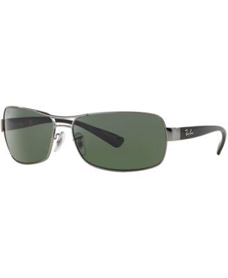 ray ban sun  Ray-Ban Sunglasses, RB3379 - Sunglasses by Sunglass Hut - Men - Macy\u0027s