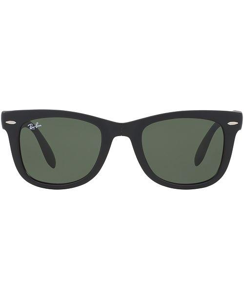 Ray Ban Folding Wayfarer Sunglasses Rb4105 Sunglasses By Sunglass