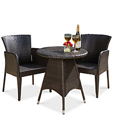 Toppin 3-Piece Bistro Set, Quick Ship