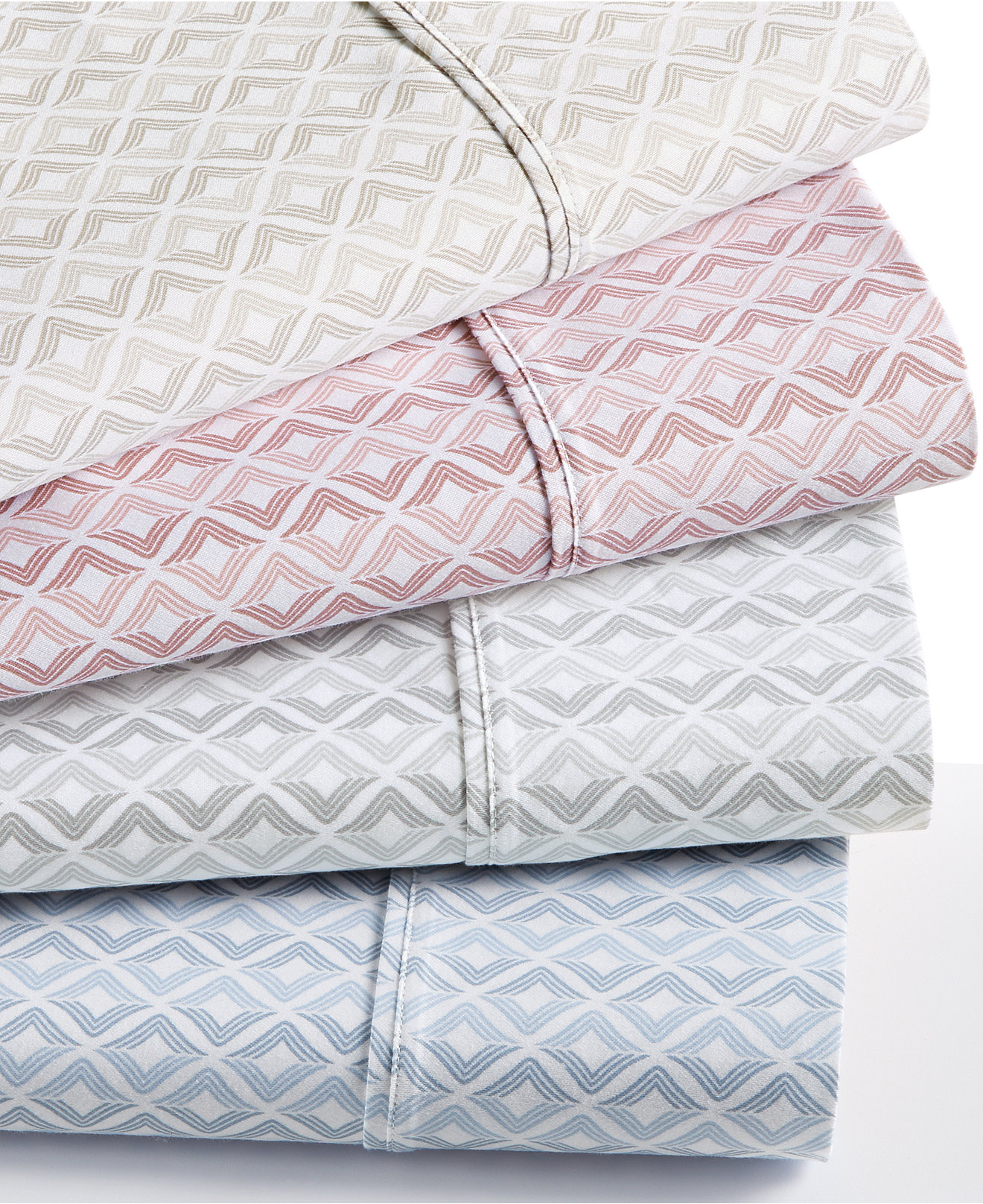 sheet sets bed sheets  macy's - sorrento print pc sheet sets  thread count created for macy's