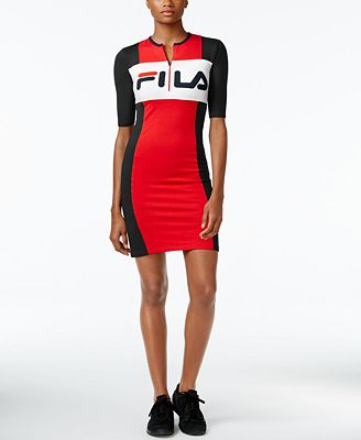 fila outfits. Fila Colorblocked Dress Outfits