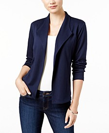 Petite Draped Blazer, Created for Macy's