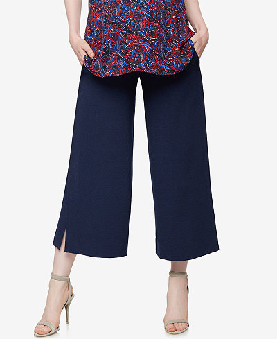 A Pea In The Pod Maternity Wide-Leg Pants