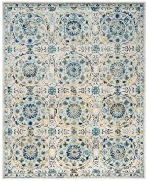 Safavieh Evoke EVK252C Ivory/Blue 8' x 10' Area Rug