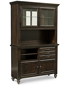 Baker Street Dining Furniture, 2 Piece China Cabinet