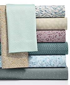 300 Thread Count Cotton Sateen Printed Sheet Sets