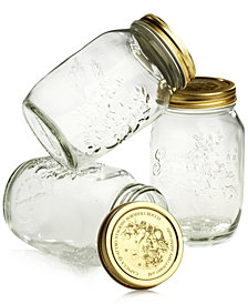 Bormioli Rocco Quattro Stagioni 33.5oz Canning Jars, Set of 3