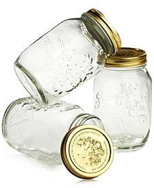 Bormioli Rocco Quattro Stagioni 33.5oz Canning Jars, Set of 3