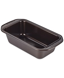 "Symmetry Nonstick Chocolate Brown 9"" x 5"" Loaf Pan"