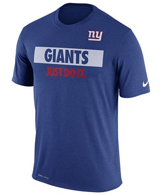 Nike Men's New York Giants Just Do It T-Shirt
