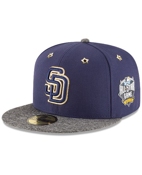 premium selection fa809 bd9e5 ... New Era San Diego Padres 2016 All Star Game Patch 59FIFTY Cap ...