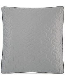 Cubist Quilted European Sham, Created for Macy's