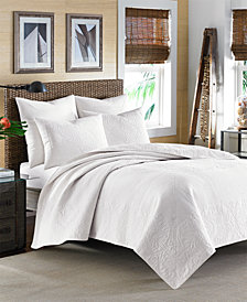 Tommy Bahama Home Nassau White King Quilt