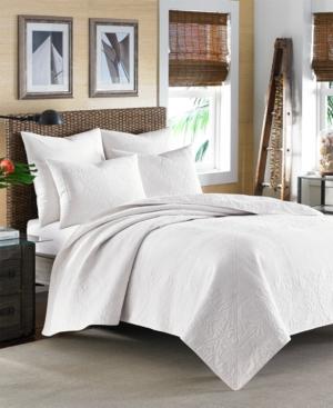 Tommy Bahama Nassau White Standard Sham Bedding