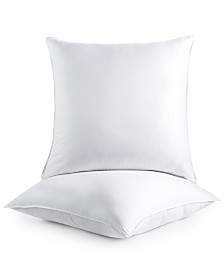 Dream Comfort by Martha Stewart Collection 2-Pack Euro Pillows, Created for Macy's