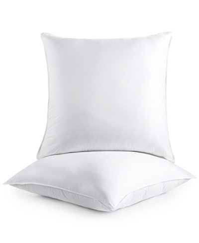 Dream comfort by martha stewart collection 2 pack euro for Comfort inn suites pillows