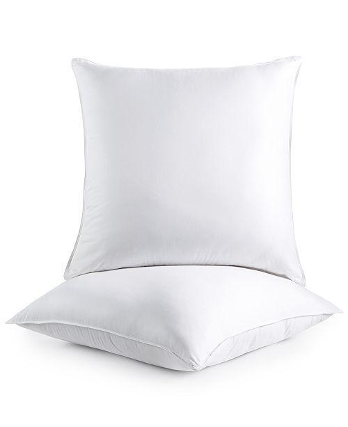 Martha Stewart Collection 2-Pack Euro Pillows, Created for Macy's