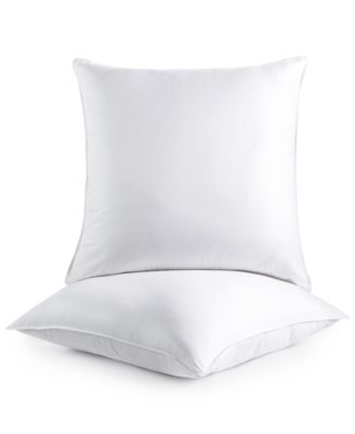 Dream Comfort By Martha Stewart Collection 2 Pack Euro Pillows, Created For  Macyu0027s