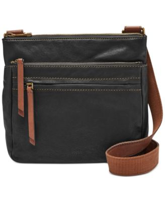 Image of Fossil Leather Corey Crossbody