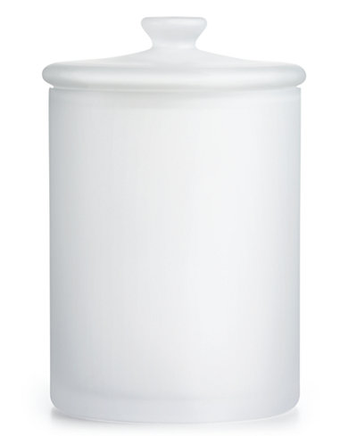 CLOSEOUT! Hotel Collection Large Frosted Glass Jar, Created for Macy's