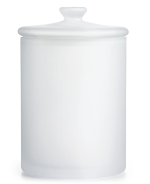 Closeout Hotel Collection Large Frosted Glass Jar Created for Macys Bedding