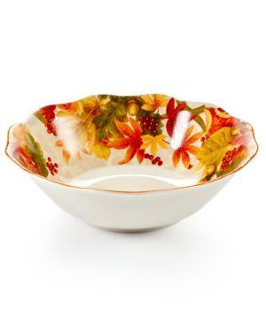 222 Fifth Autumn Celebration Serving Bowl 2889205