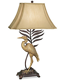 Kathy Ireland by Pacific Coast Whispering Palm Table Lamp