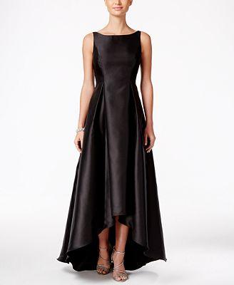 Adrianna Papell High Low Ball Gown Dresses Women Macys