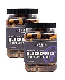 Ferris Roasted Salted Blueberries, Cranberries & Nuts