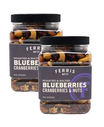 Ferris Roasted Salted Blueberries, Cranberries & Nuts
