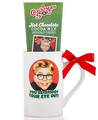 Design Pac Christmas Story Movie Cocoa & Mug Gift Set