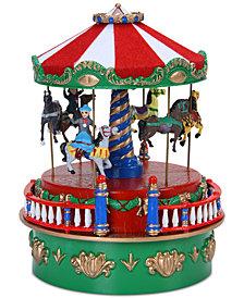 Mr. Christmas Mini Carnival Carousel Music Box