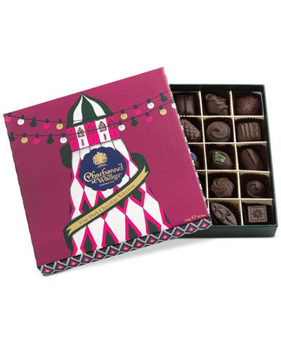 Charbonnel et Walker Carousel Collection 25-Piece Dark Chocolate Selection