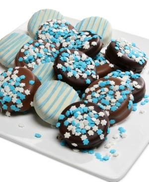 Chocolate Covered Company 12Pc Hanukkah Belgian ChocolateCovered Oreo Cookies