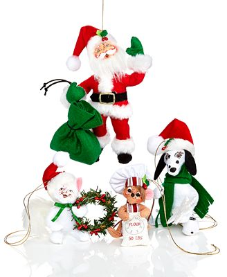 annalee christmas collectible ornament collection - holiday lane