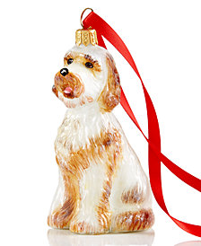 Joy to the World Goldendoodle Pet Charity Ornament
