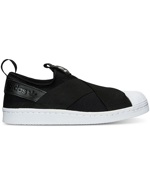 ... adidas Women s Superstar Slip-On Casual Sneakers from Finish Line ... 0a8710579