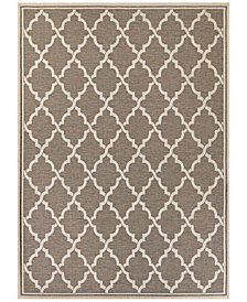"Couristan Monaco Indoor/Outdoor Ocean Port 5'3"" x 7'6"" Area Rug"