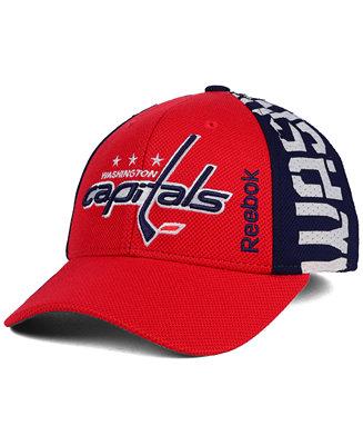 fa84ecd6301797 Reebok Washington Capitals 2016 NHL Draft Flex Cap & Reviews - Sports Fan  Shop By Lids - Men - Macy's