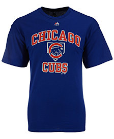 Majestic Men's Chicago Cubs Hit and Run T-Shirt